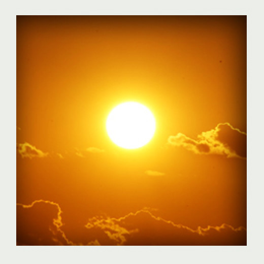 Life here on earth is possible because of the sun but it can also take it all away.