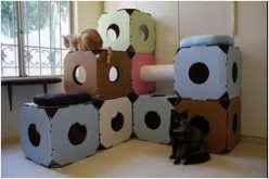 Designer DIY Cat Tree Ideas that Make Cats Go Meow!