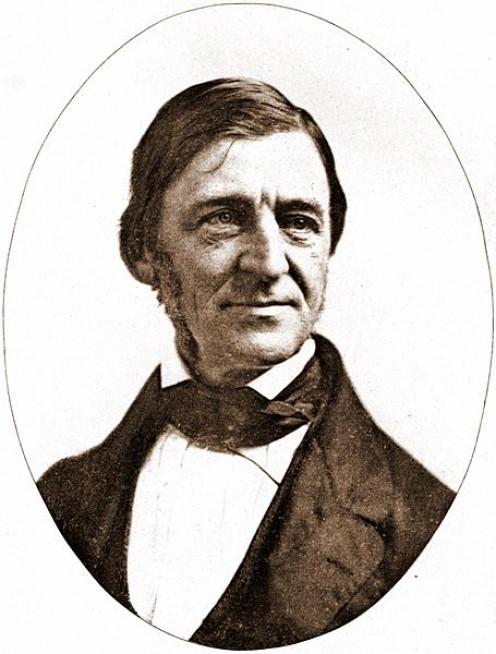Image of Ralph Waldo Emerson dated 1859