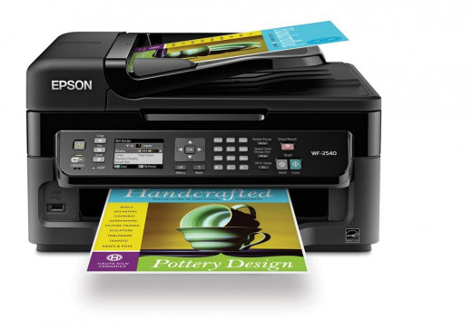 how to set up wireless on epson 220