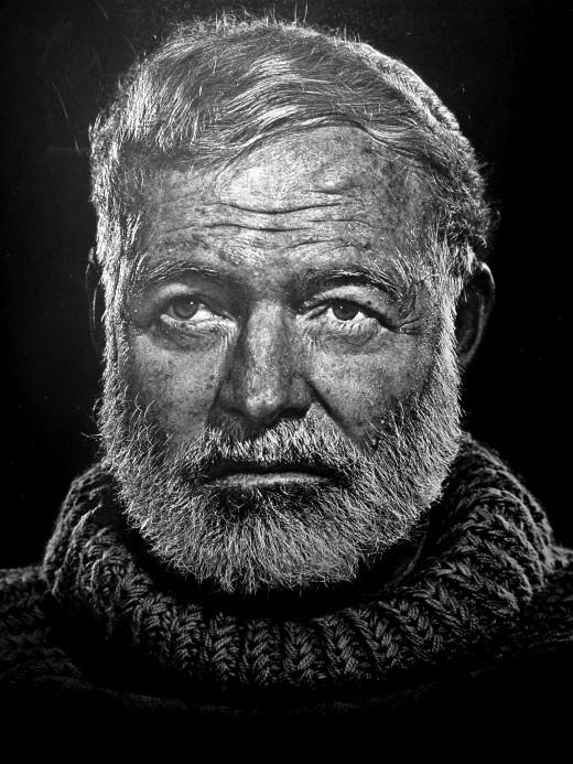 "Hemingway said ""Write drunk, edit sober."""