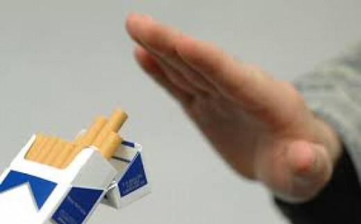 Say no to smoking!