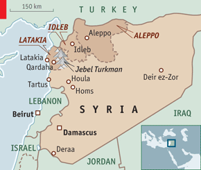 Syria is not a vast country with huge areas where rebels can retreat, strategise and resupply.