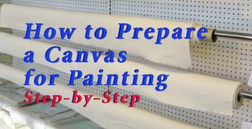 How Do You Prepare A Canvas For Acrylic Paint
