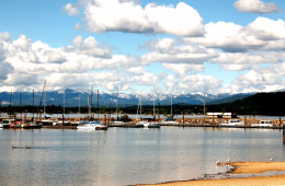 City Beach in Sandpoint, Idaho
