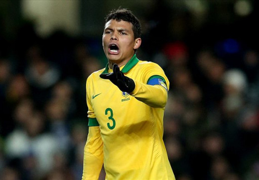 Thiago Silva - The Brazilian Captain Leading from the Back