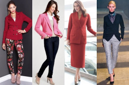 Learning to wear a blazer for different occasions can make the blazer a favorite piece to wear.