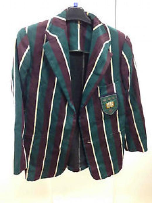 A men's blazer of the 1930s