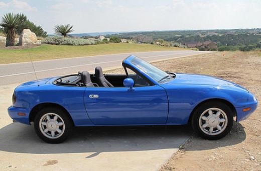 A 91 Mazda Miata