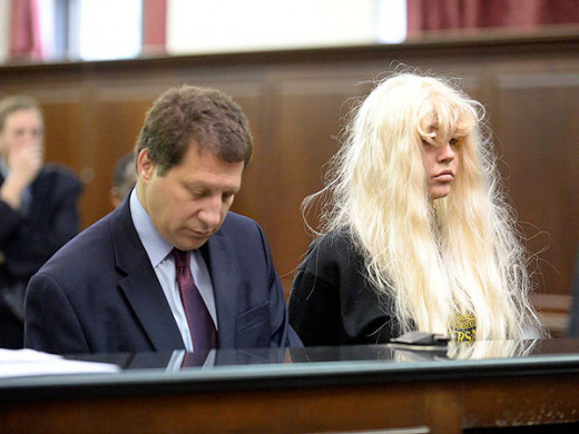 Bynes looking her best during her court date