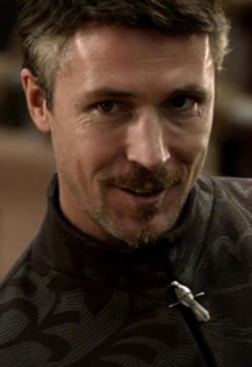 Petyr Baelish in the Game of Thrones Television series played by Aiden Gillen