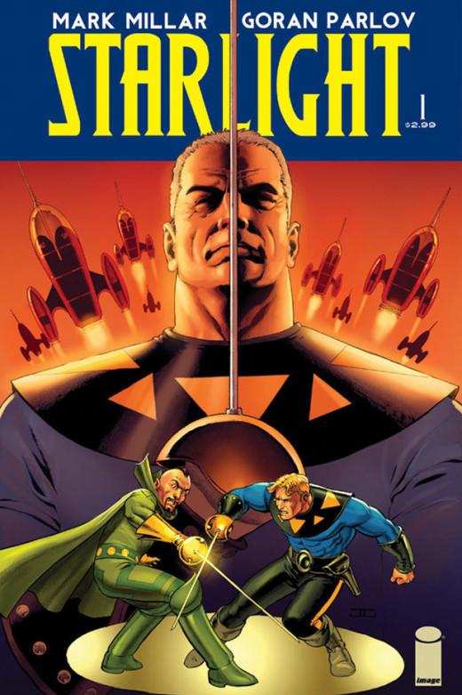 Mark Millar's new hit series Starlight