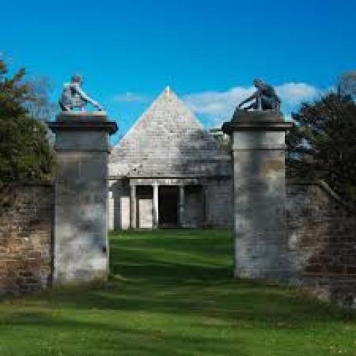 Small Pyramid At Gosford House, Near Longniddry, East Lothian, Scotland