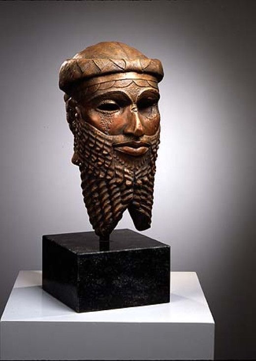 Enheduannas father the first Emperor on earth Sargon the Great of Mesopotamia aka Akkadian/Sumerian King Sargon of Akkad and Kish. The Akkadian king who conquered Sumer in 2350 B.C...