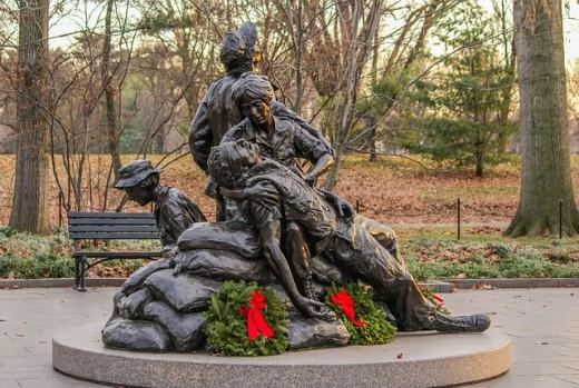 Viet Nam Conflict Nurses' Memorial