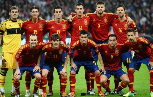 The Spanish National Football Team