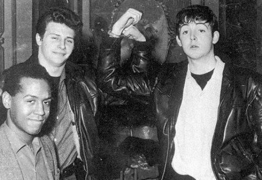 Pete Best and Paul 1961