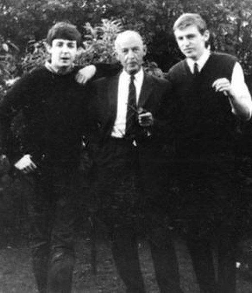 Paul, his Dad, Michael 1963