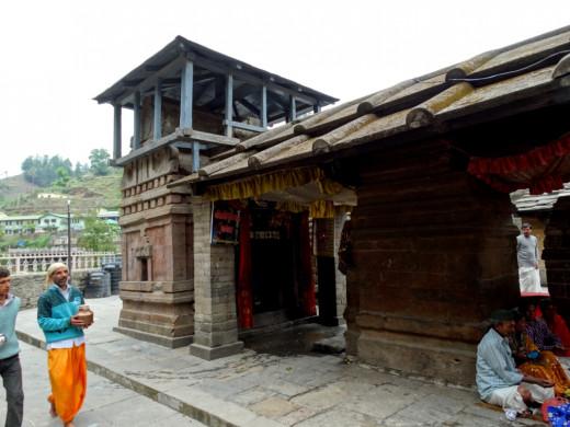 Pushti Mata temple