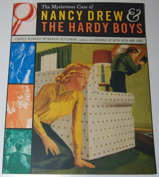a look out book The Mysterious Case of Nancy Drew & The Hardy Boys by Carole Kismaric and Marvin Heiferman