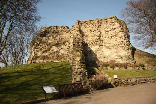 Richard II was reputedly murdered in Pontefract Castle