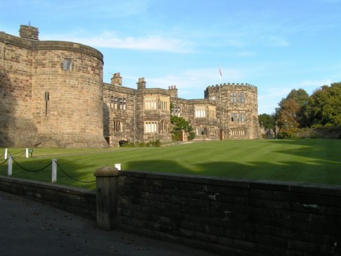 Skipton Castle is one of the best preserved medieval castles in Enland