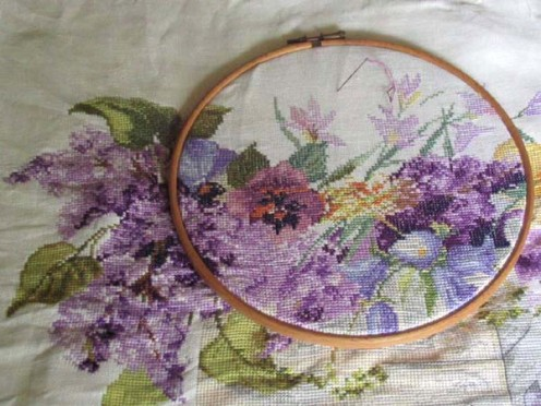 How to Teach Yourself Cross Stitch