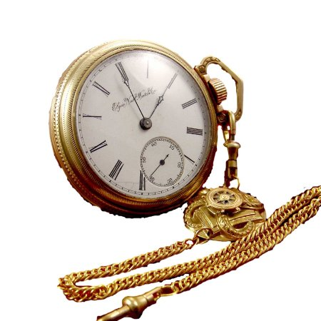Image 1 of Antique Elgin Pocket Watches