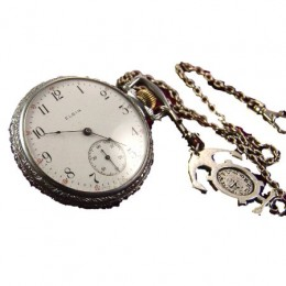 Image 3 of Antique Elgin Pocket Watches