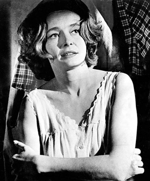 My girl Patricia Neal. You break her heart, I break your face.