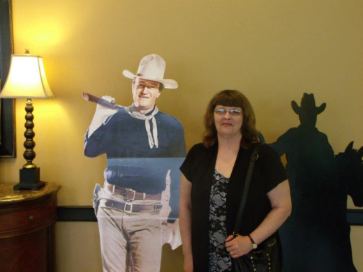 Me and the duke at the 2012 Memphis Film Festival.