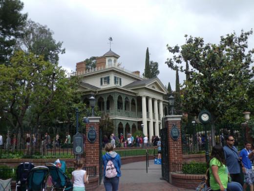 The Haunted Mansion at Disneyland