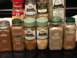 Spices and Herbs are expansive.