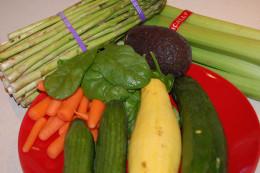 Vegetables should make up the bulk of your diet