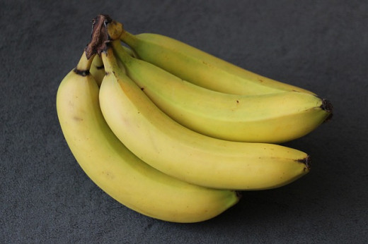 If you're looking for a healthy alternative to sweets why not try bananas instead. Not only are they high in potassium but they are low in fat too.