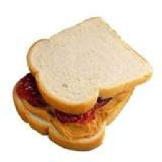 Americas Favorite. Peanut Butter And Jelly Sandwich.