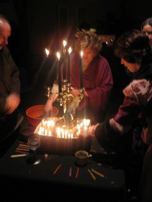 Wiccan rituals bury fetish