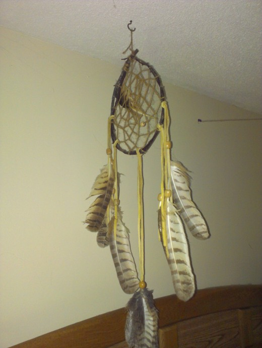 Dreamcatcher to catch the bad energy