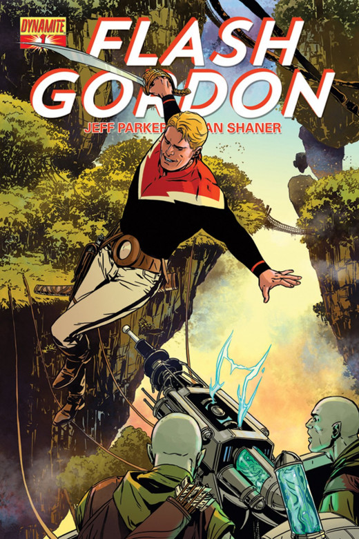 The new Flash Gordon is a great throwback to the good old days.