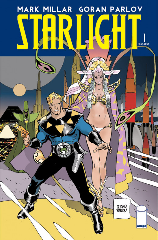 Maybe the best of the bunch, Starlight is another instant Mark Millar classic.