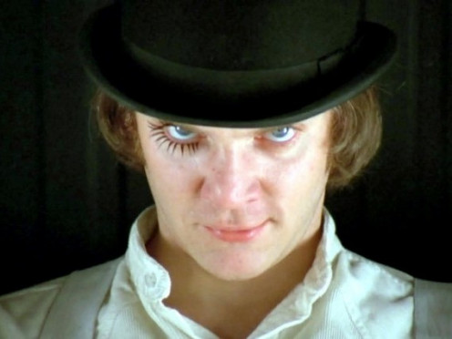 """A Clockwork Orange"" by Stanley Kubrick (1971)"