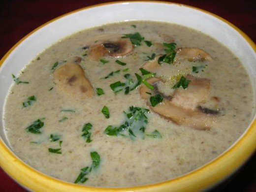 Here we have delicious homemade Mushroom Soup that I guarantee you is some of the best Mushroom Soup you will ever taste.