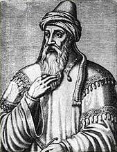 Artistic representation of Saladin.