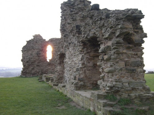 Sandal Castle was one of Richard III's intended restoration projects before he died at the Battle of Bosworth