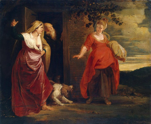 Hagar leaves Sarai and Abram