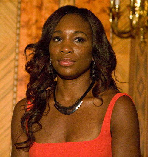 Venus Williams at a Hudson Union Society event in July 2010.   (born June 17, 1980)