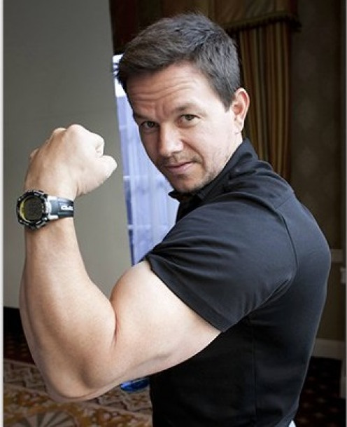 "(born June 5, 1971) Mark Wahlberg Sexy Hollywood Actor Fabric Wall Scroll Poster (16"" X 23"") Inches"