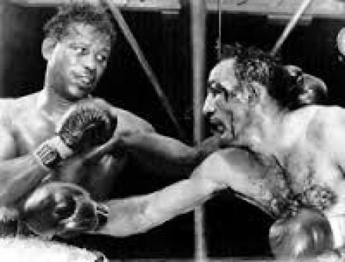 Ray Robinson fought all comers including Carmen Basilio.