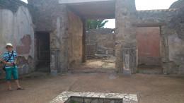Ancient house of Pompeii