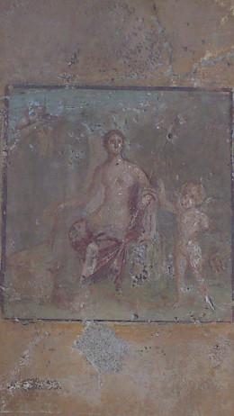 Beautiful original remains, Pompeii